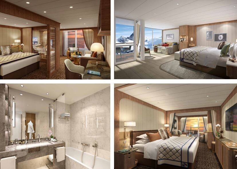 Seabourn cruise line new interior design unveiled