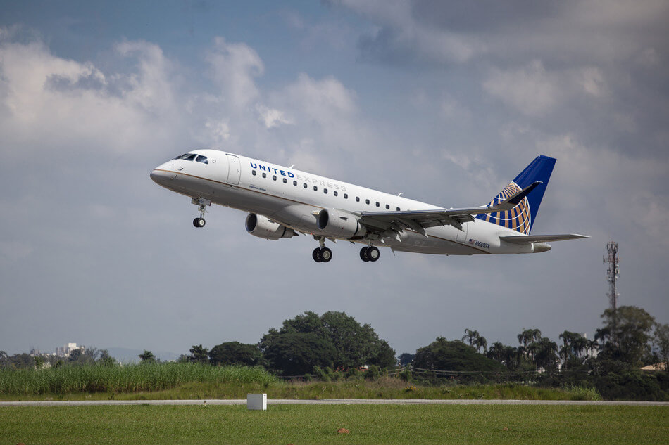 ExpressJet Airlines: United Express carrier began service with its newest aircraft type