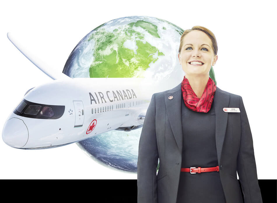 Air Canada 2018 corporate sustainability report