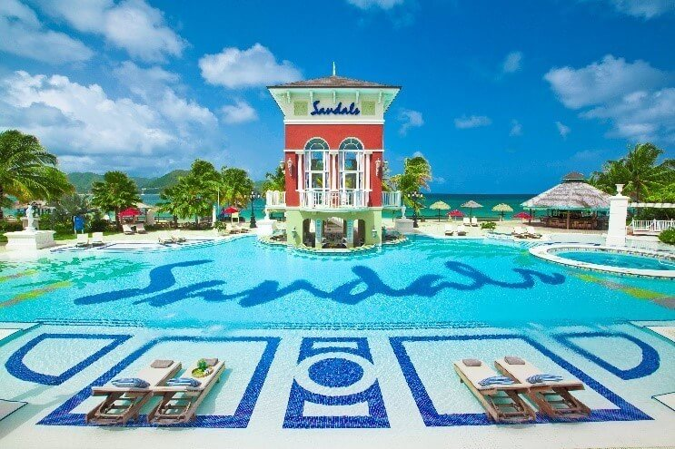 First day of summer with Sandals Resorts