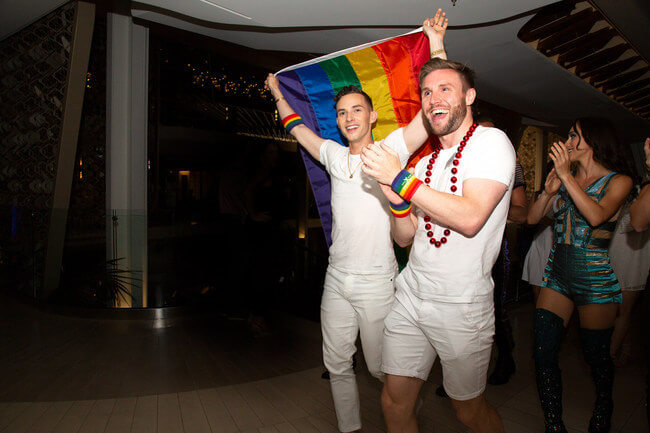 Celebrity Cruises: Third annual Pride Party at Sea