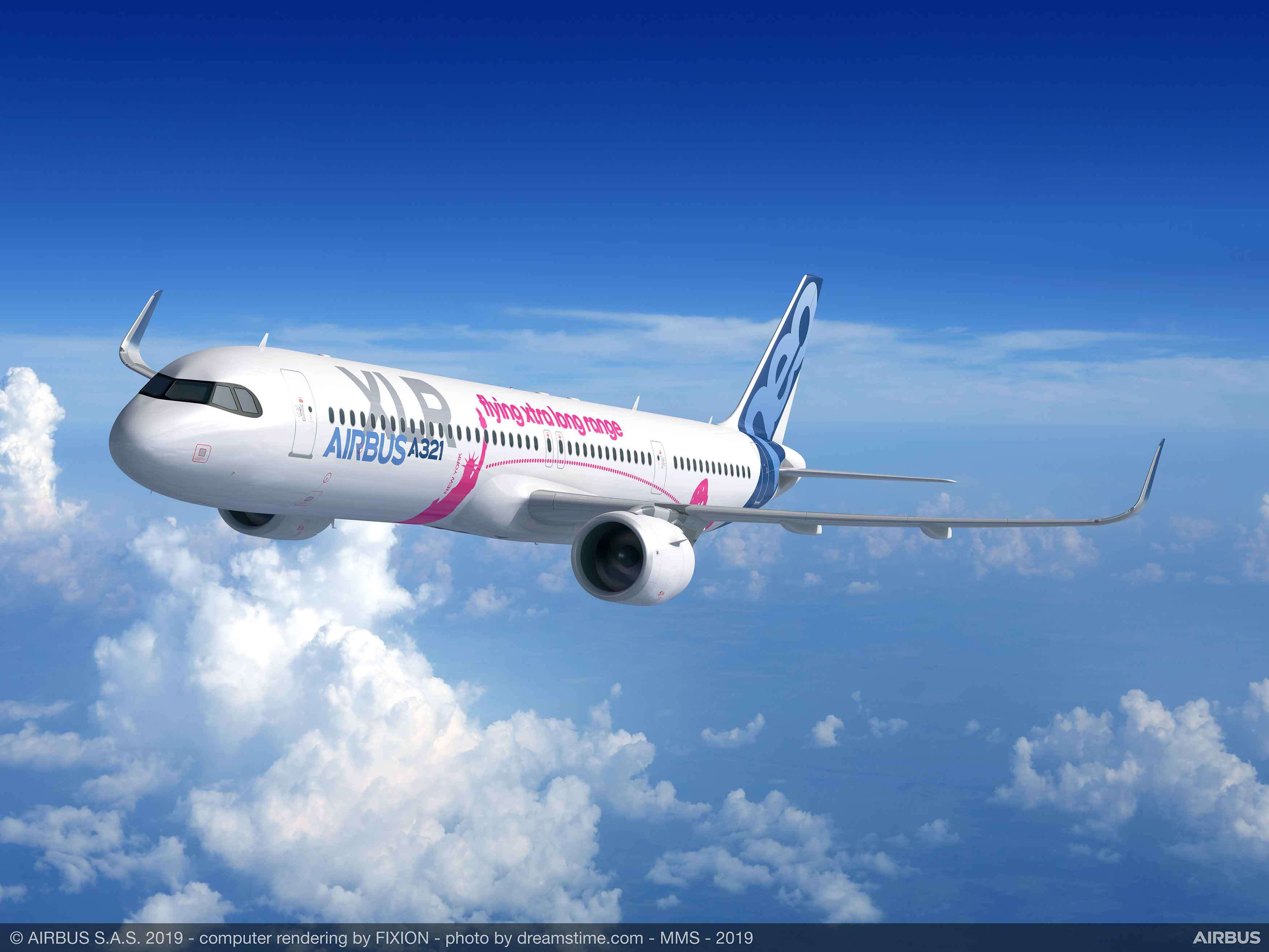 Airbus launches longest range single-aisle airliner: the A321XLR
