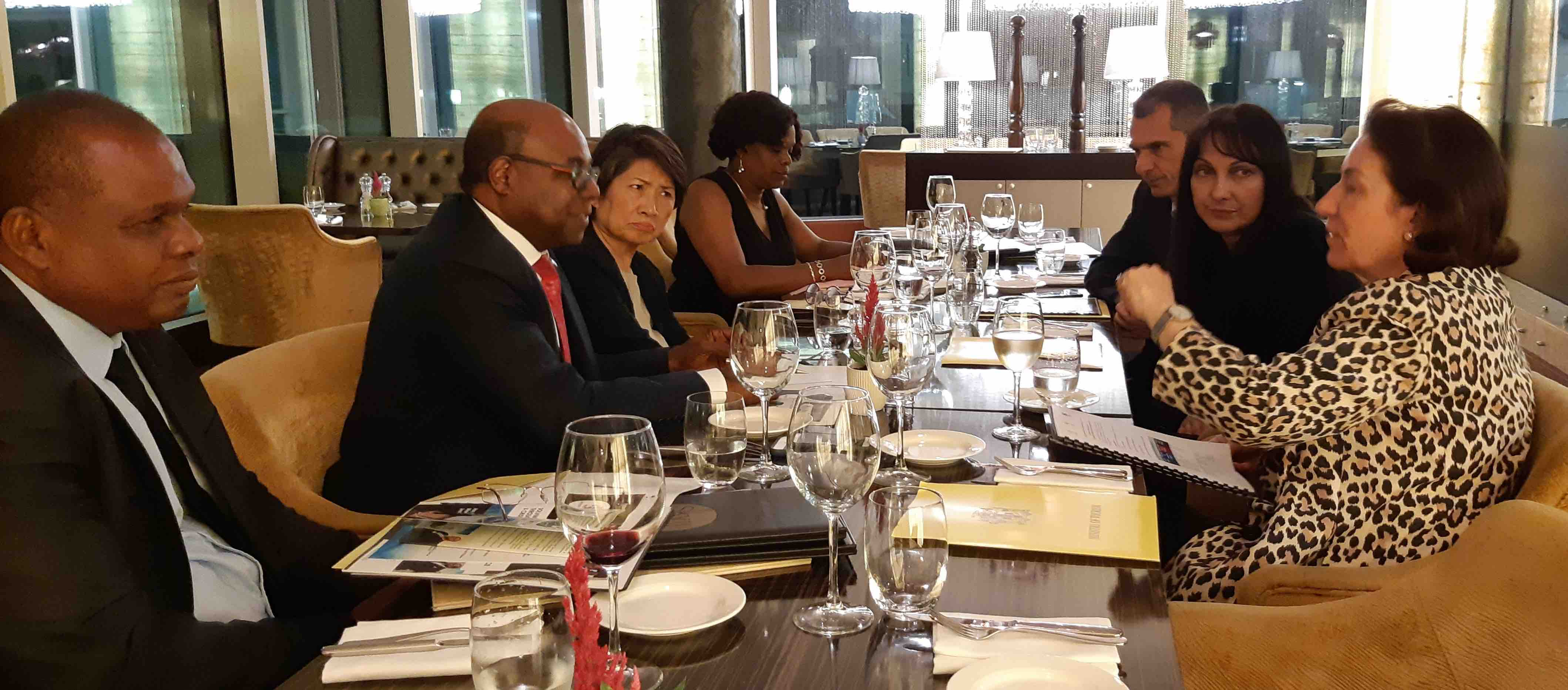 , Jamaica Tourism Minister Bartlett Meets With Top Tourism Resilience Partners in Azerbaijan, Buzz travel | eTurboNews |Travel News