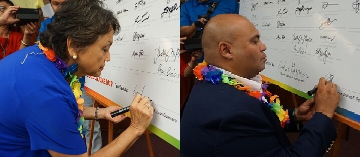 Celebrating PRIDE month: Guam's first woman Governor signs first PRIDE Pledge