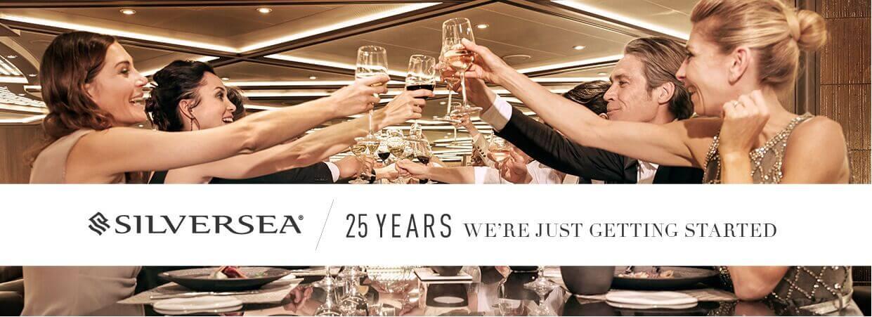Luxury Cruising: Silversea celebrates silver jubilee