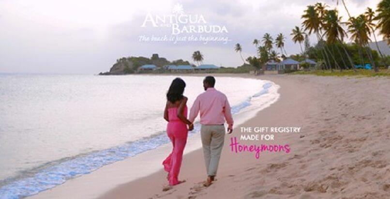 Antigua launches new honeymoon registry during romance month