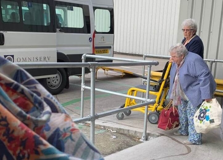 Disabled group stuck on plane at Manchester Airport