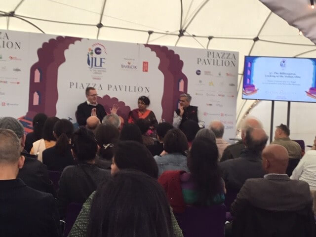 Jaipur Litfest in London 2019: Tigers to Billionaires