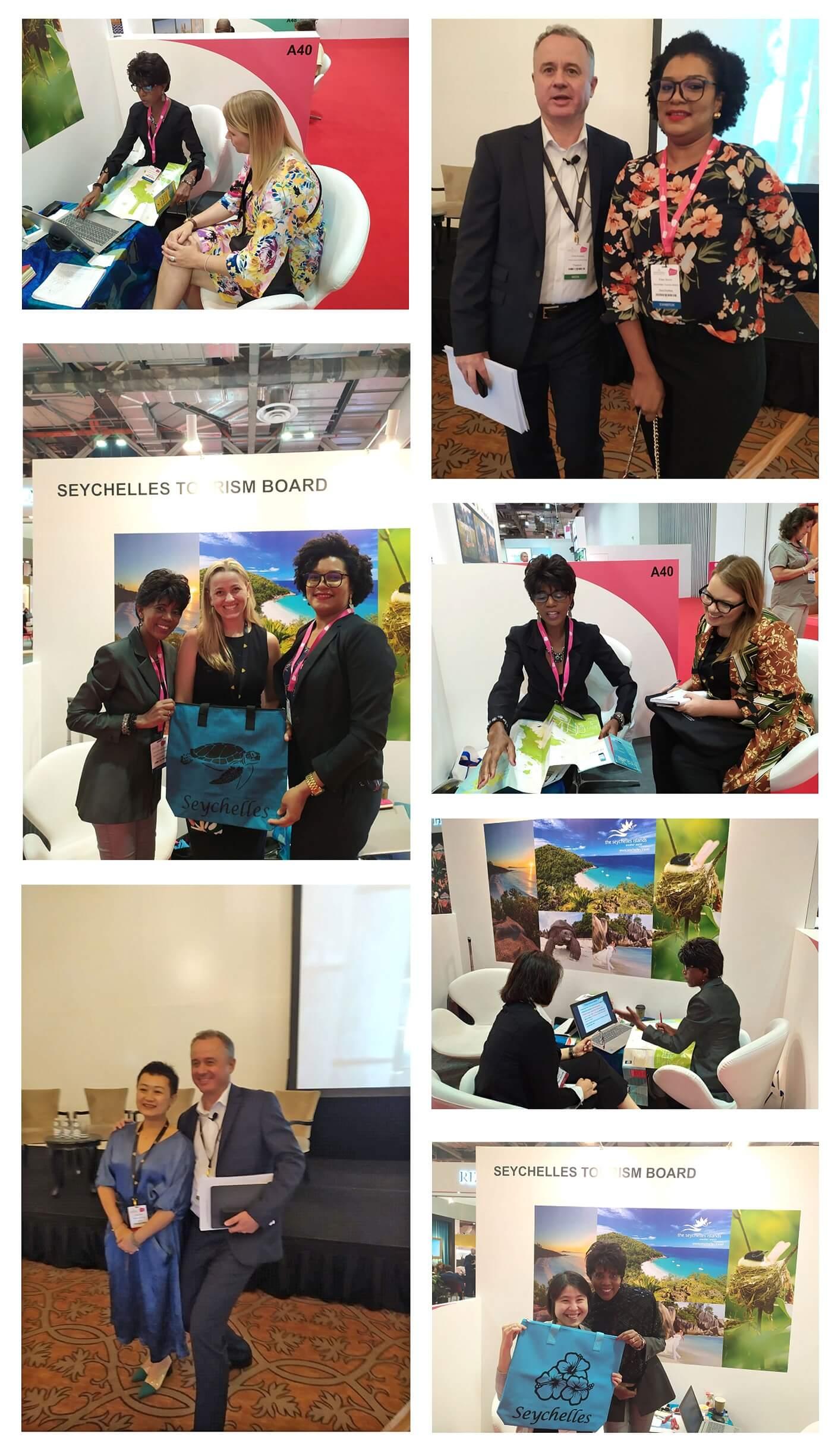Seychelles Tourism Board attending ILTM Asia-Pacific Fair