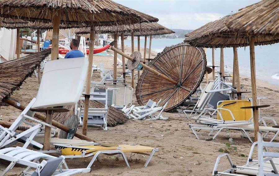 Strong storm hits northern Greece, killing six, injuring dozens