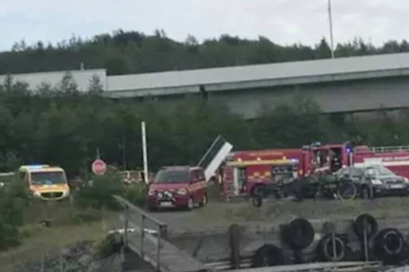 Nine people killed in Sweden skydiving plane crash