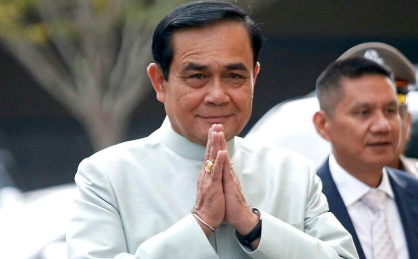 Thailand's Prime Minister declares end of military rule