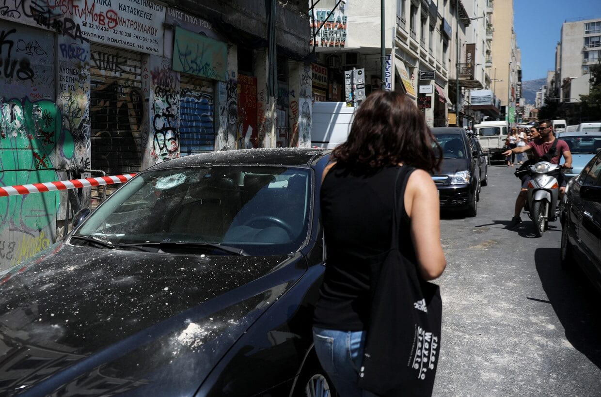 Panic and evacuations in Athens as strong earthquake strikes Greek capital