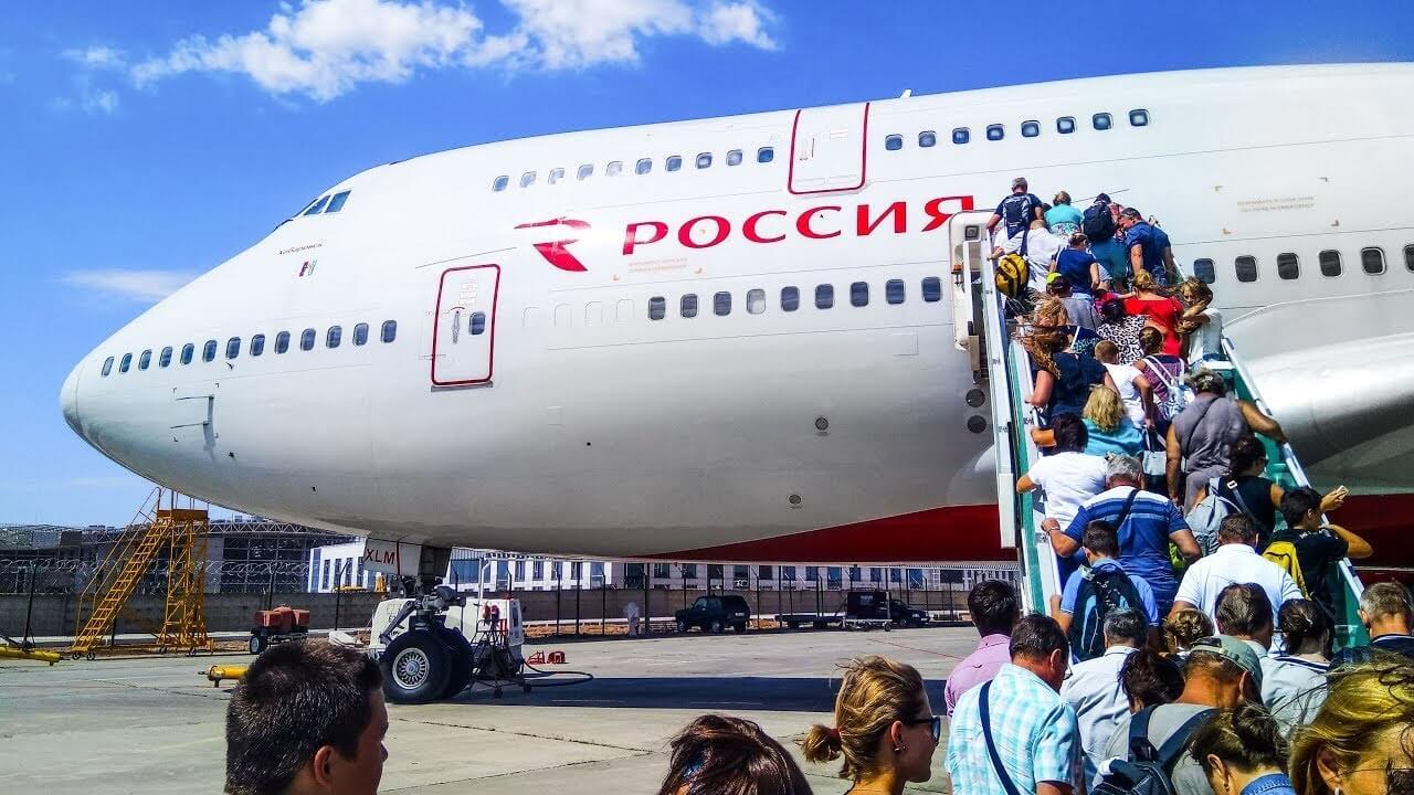 Rossiya Airlines' Boeing makes emergency landing at Moscow Vnukovo Airport