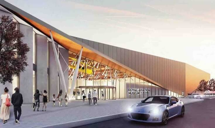 Construction of new Royal Aviation Museum of Western Canada announced
