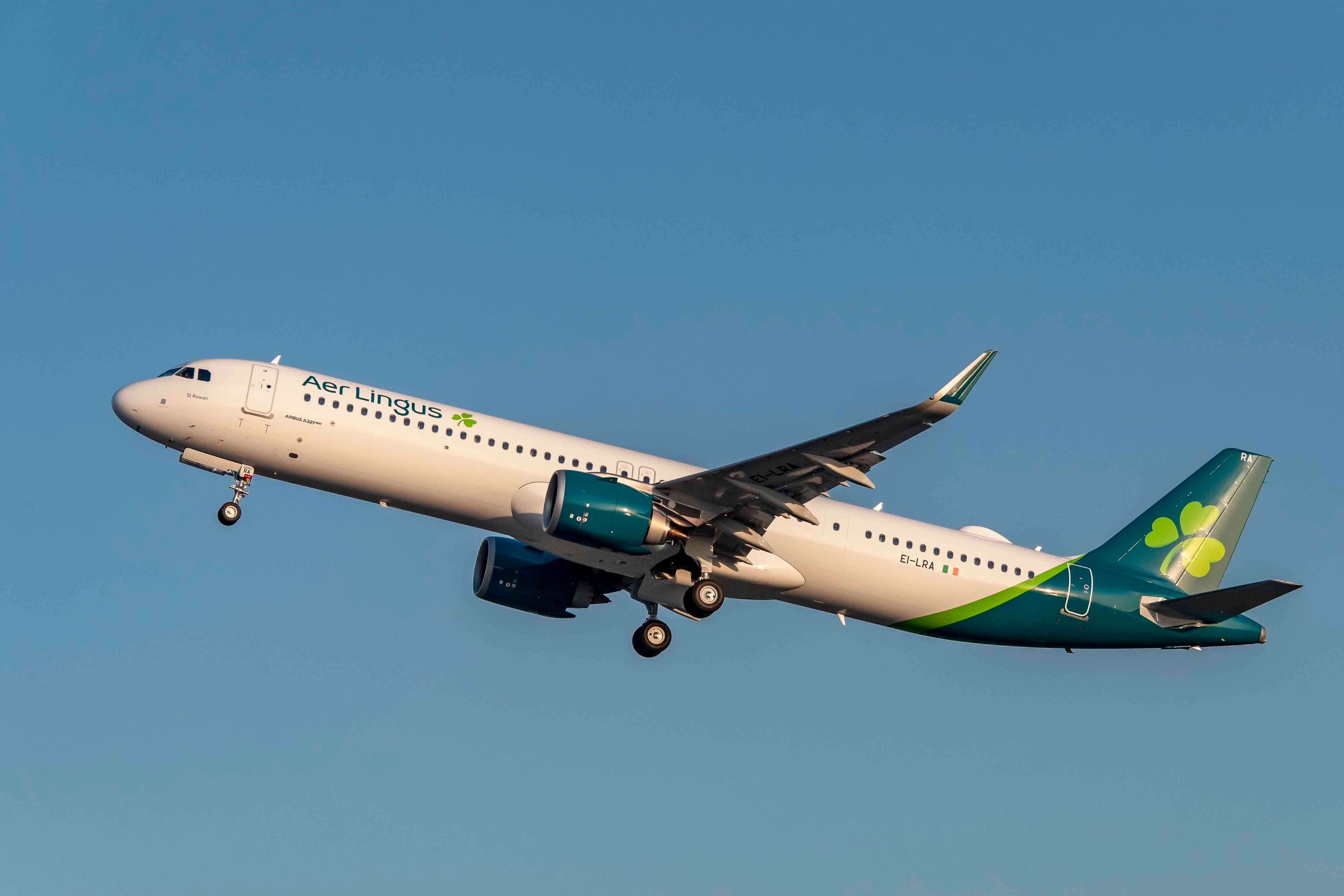 Aer Lingus takes delivery of its first Airbus A321LR
