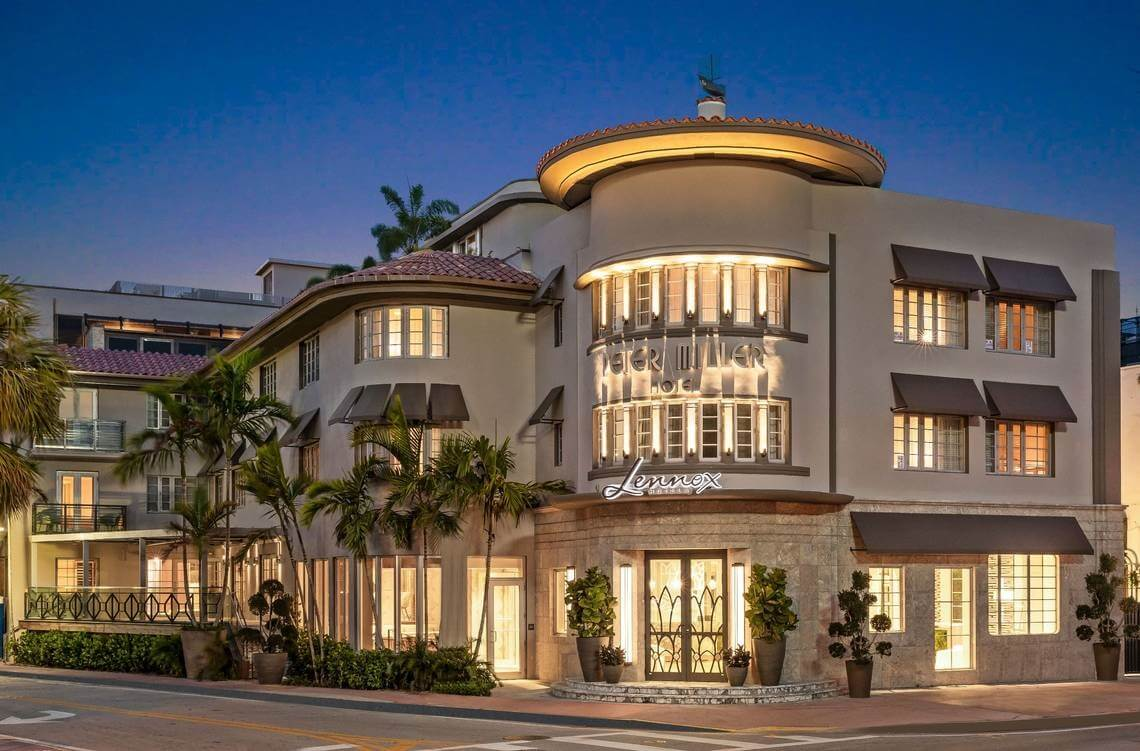 Lennox Hotel Miami Beach opens this August