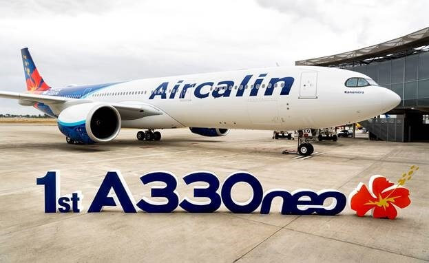 Aircalin takes delivery of its first Airbus A330neo aircraft
