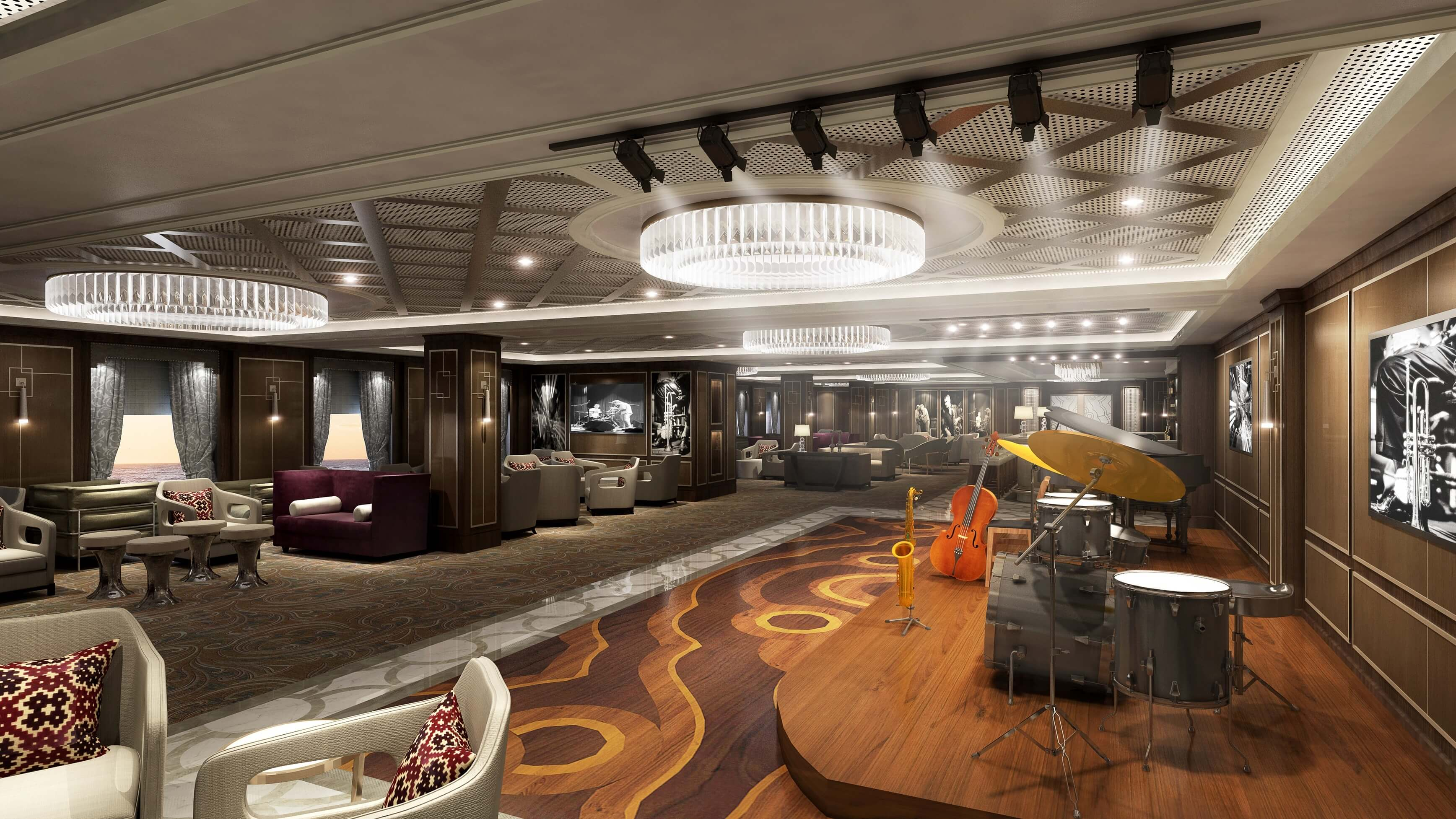 Princess Cruises debuts the only jazz theater at sea