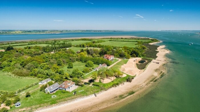UK's own private island goes Airbnb