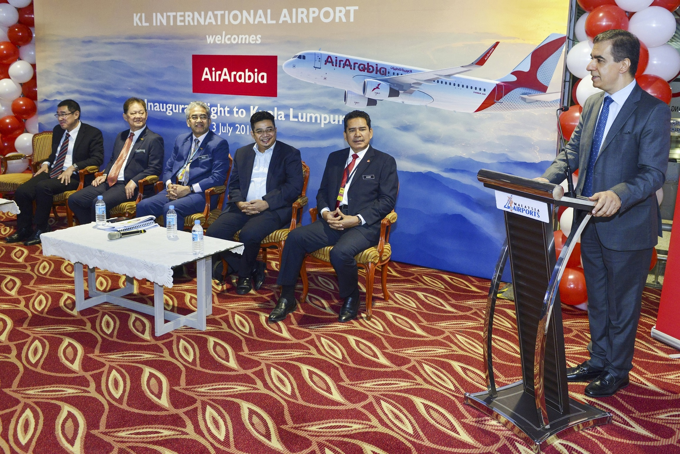Air Arabia starts flights to Kuala Lumpur International Airport