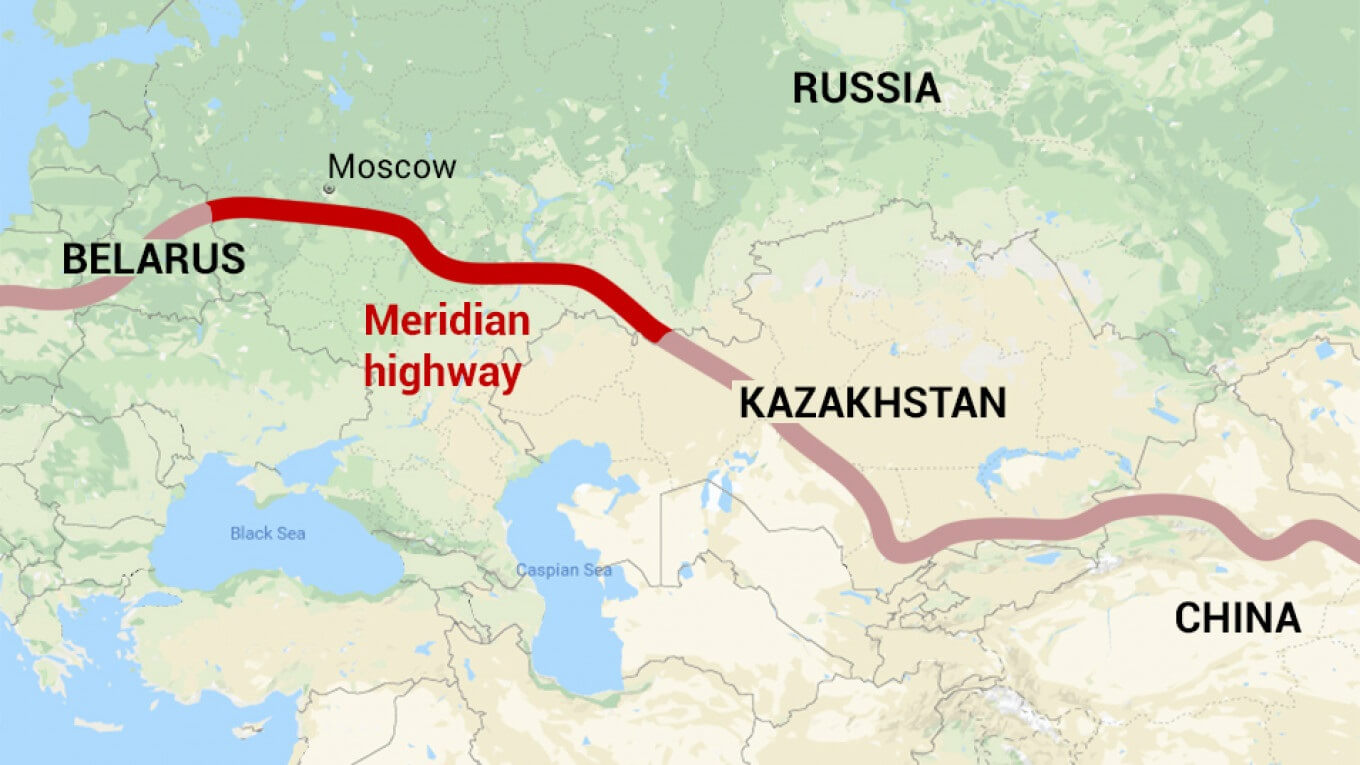 Russia to build 1.250-mile toll highway linking China and Europe