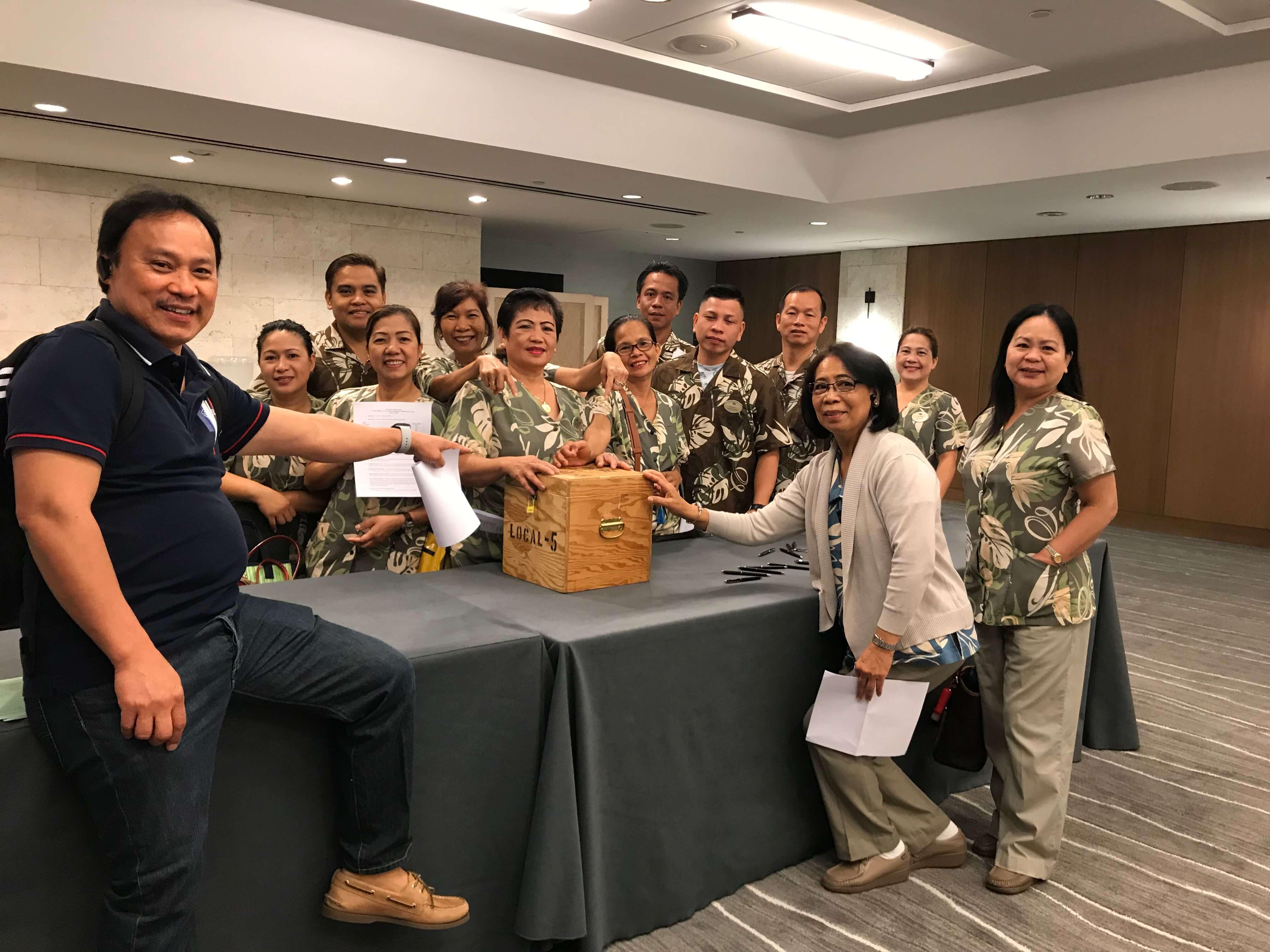 Hyatt Regency Waikiki avoided strike