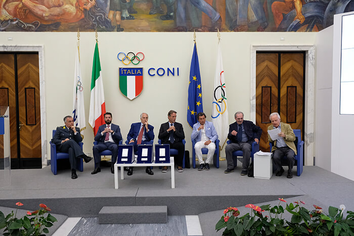 Italy Sports Tourism: Fair Play-Menarini Awards at Olympic Village in Rome