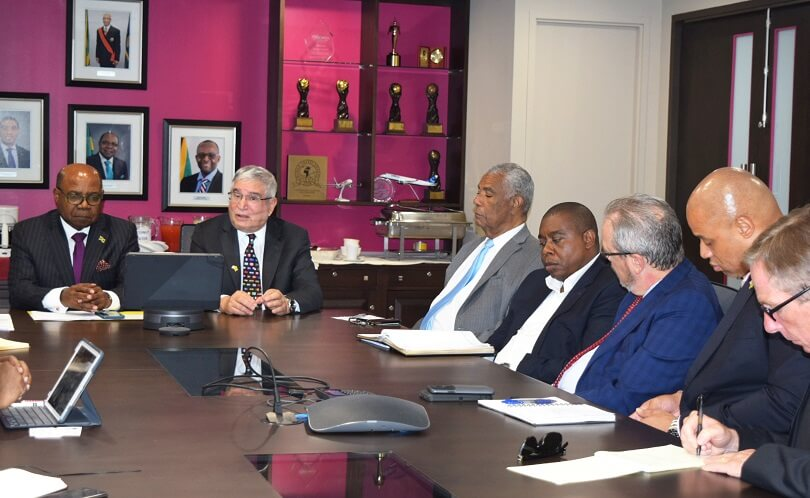 Jamaica Tourism Minister meets with Embassy officials on Security Audit Report