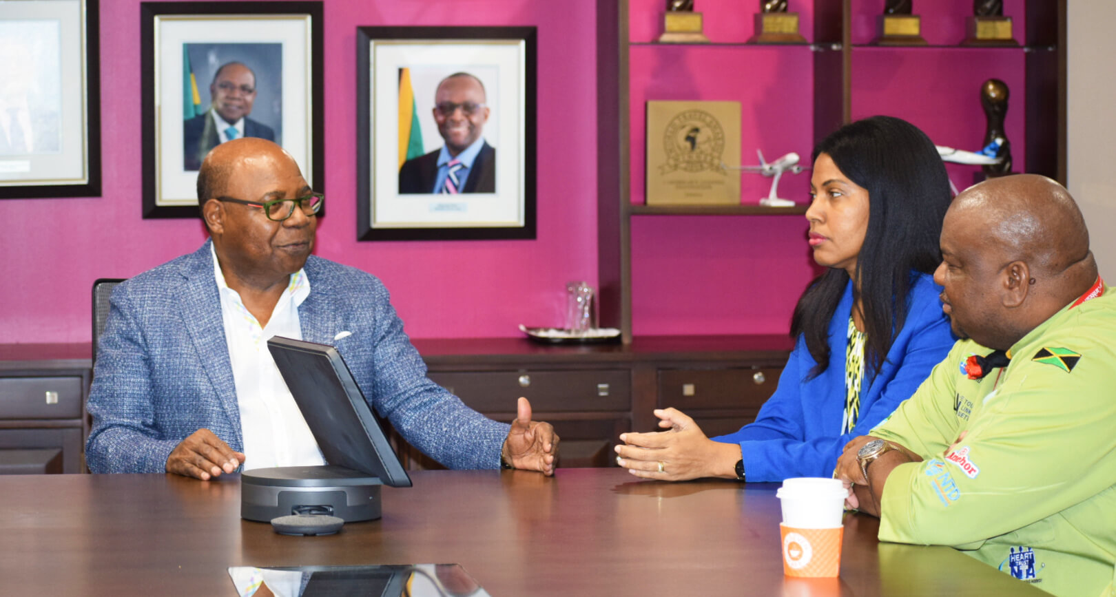 Jamaica Tourism Minister Meets with Jamaica's 2019 Taste of the Caribbean Team