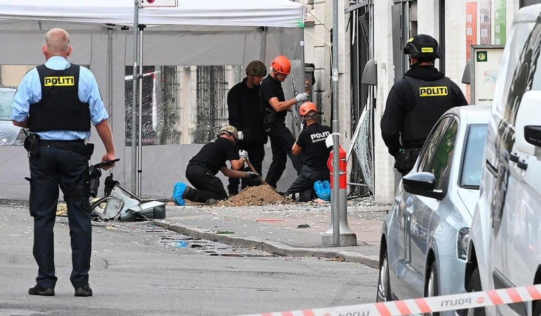 Second bombing in four days rocks Copenhagen