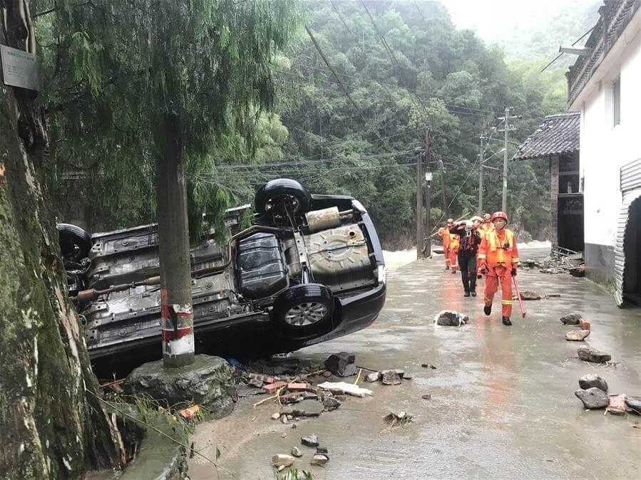 China's Typhoon Lekima death toll rises to twenty two