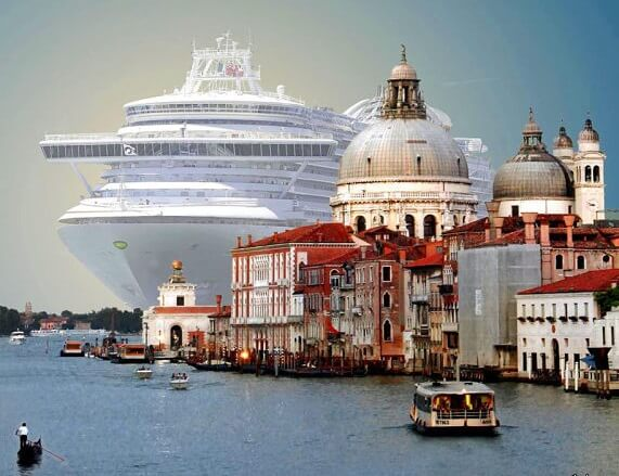 Stopping cruise ships docking in Venice city center will just move overtourism into new areas
