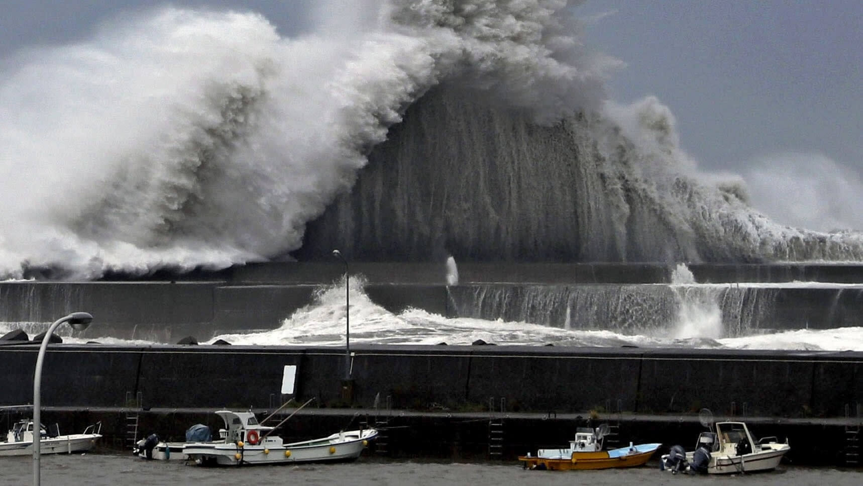 300,000 told to evacuate, hundreds of flights cancelled in Japan ahead of tropical storm Krosa
