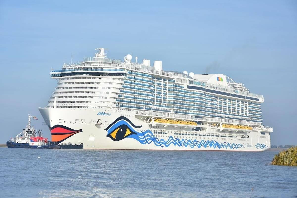 Carnival's AIDA Cruises earns Blue Angel award for environmentally friendly ship design