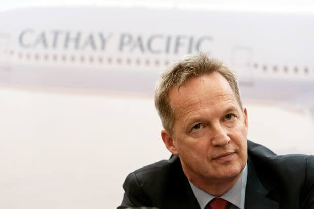Beijing forces Cathay Pacific Airways' chief to resign over Hong Kong protests