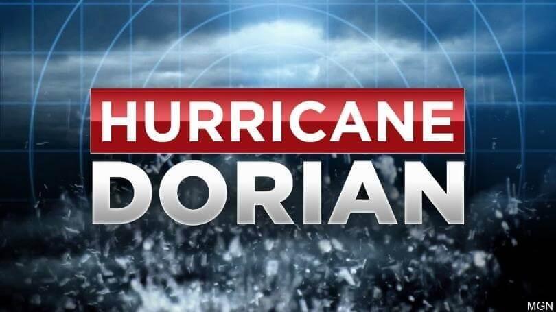 Dorian on track for Grand Bahama, Abacos: Slightly weakening  for Florida