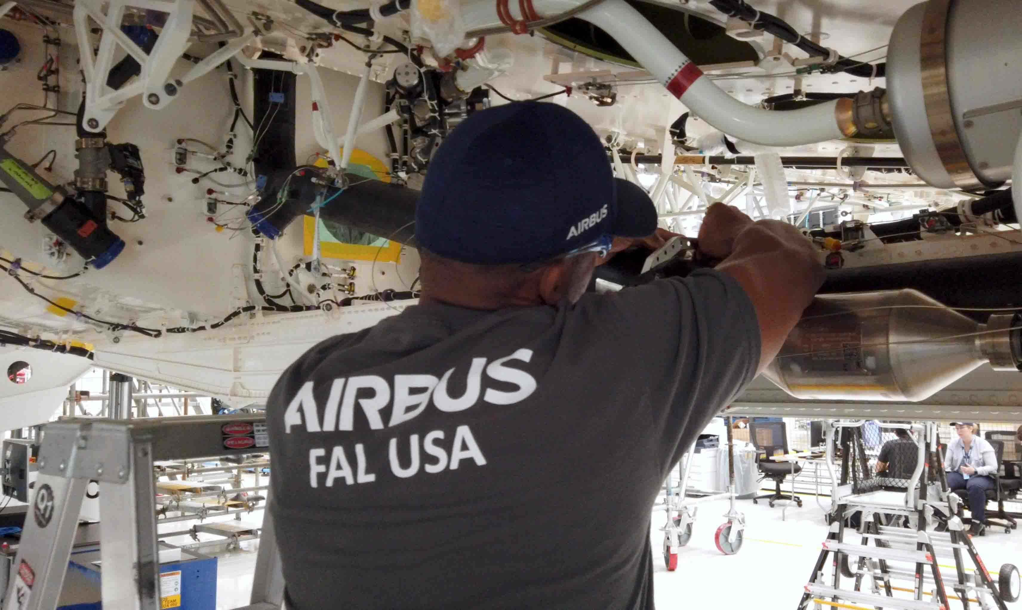 Airbus begins US production of A220 aircraft
