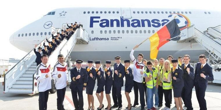 Lufthansa will continue to be official partner of Germany's football association DFB