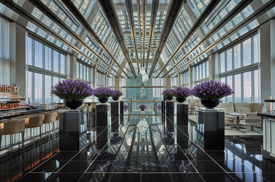 The Tallest Building is now the Four Seasons Hotel Philadelphia