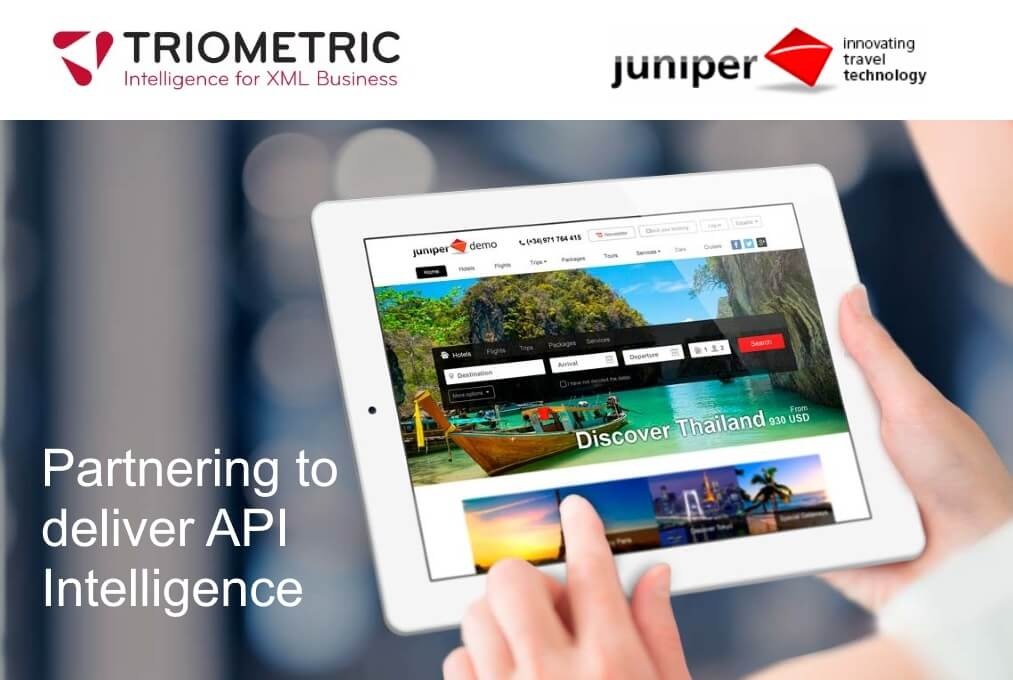 Triometric and Juniper team up to offer a powerful API business intelligence service to Juniper clients.