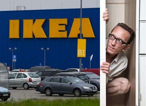 Scottish police thwart massive flash mob 'hide-and-seek game' at Glasgow IKEA store