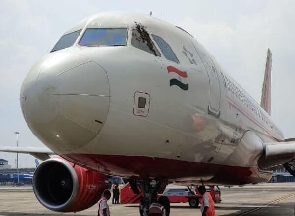 Air India jet aborts takeoff in Kolkata after bees block cockpit window