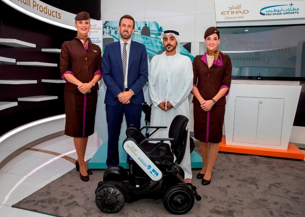 Etihad Airways tests autonomous wheelchairs at Abu Dhabi International Airport