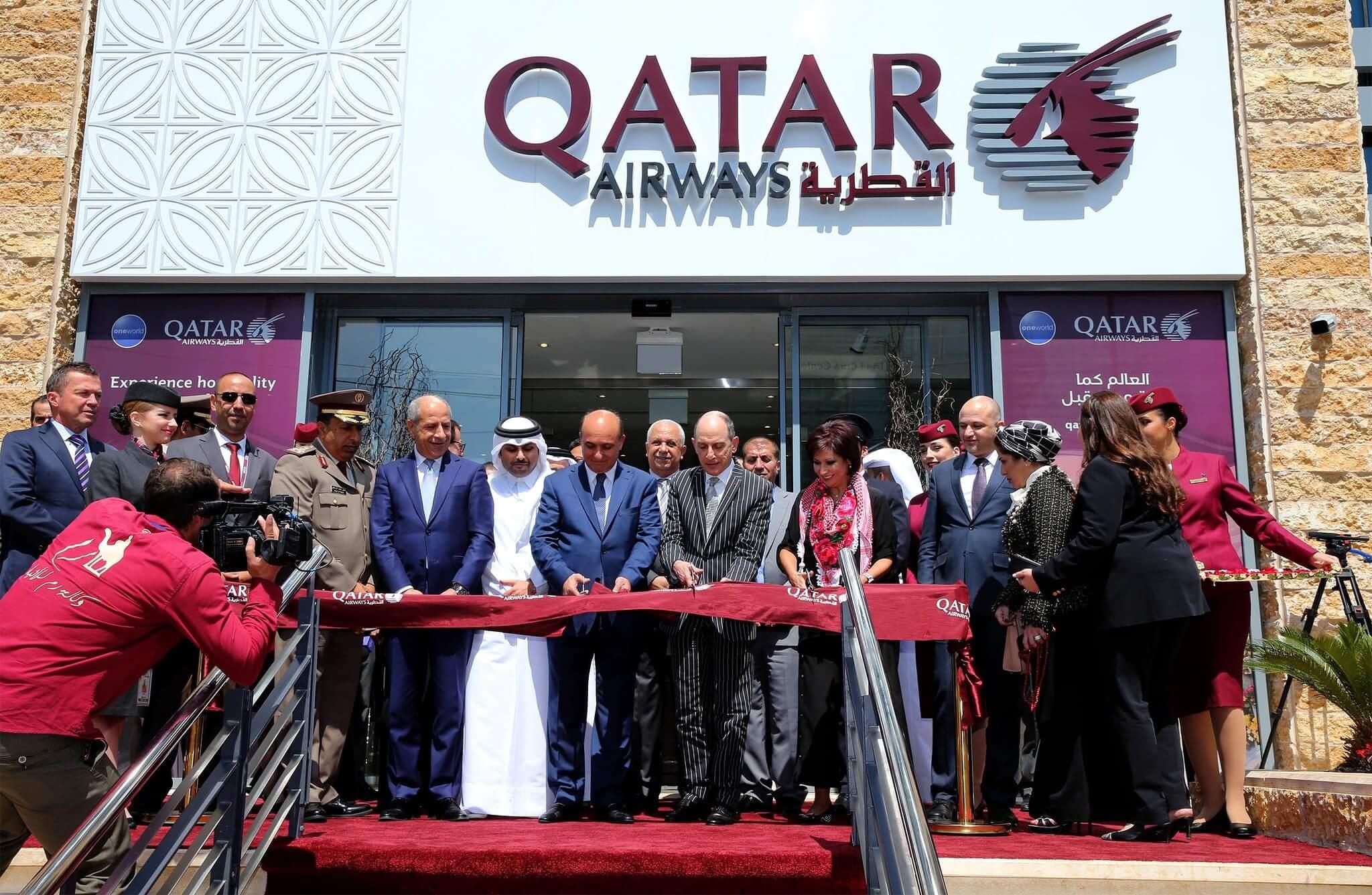 Qatar Airways opens new office in Amman, Jordan