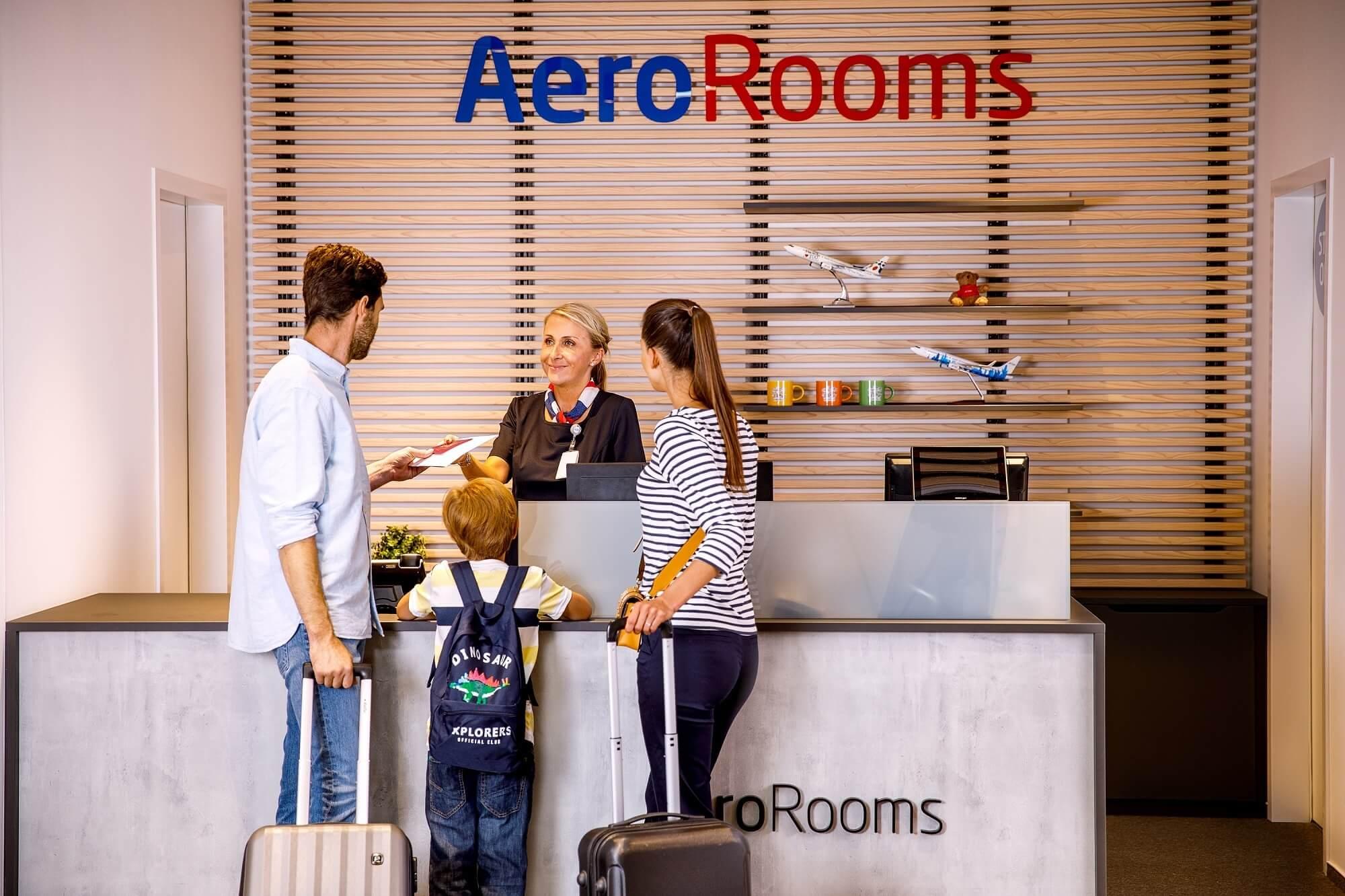 Prague Airport opens AeroRooms Hotel behind passport control