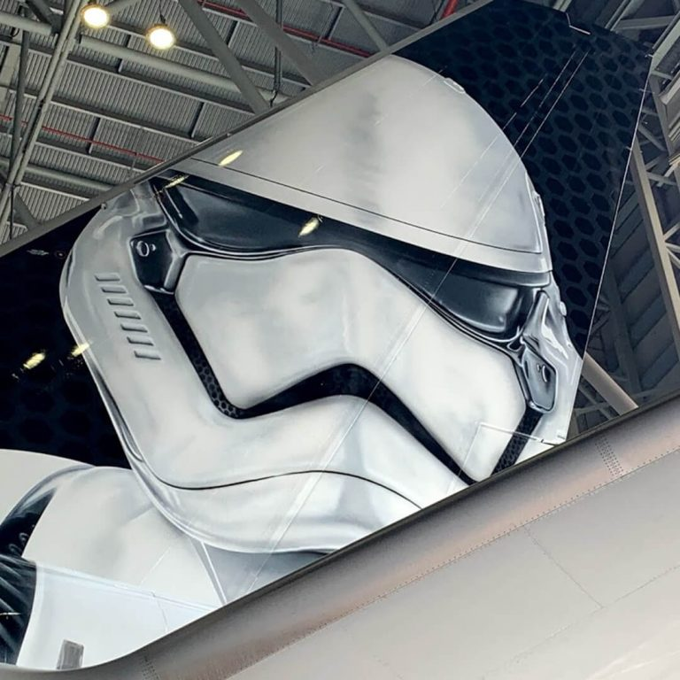 LATAM Airlines reveals Star Wars-inspired aircraft