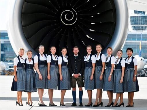 World's largest Oktoberfest: Lufthansa flights featuring biggest 'Trachten' crew of all time