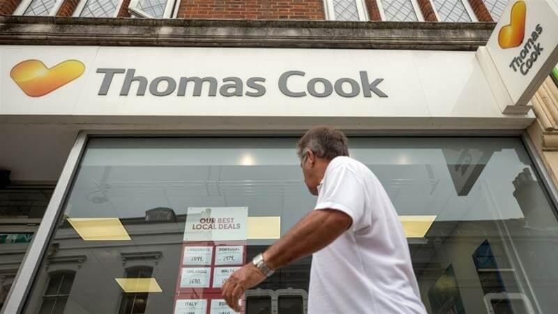 Bankrupt! Thomas Cook goes bust stranding 600K travelers around the world