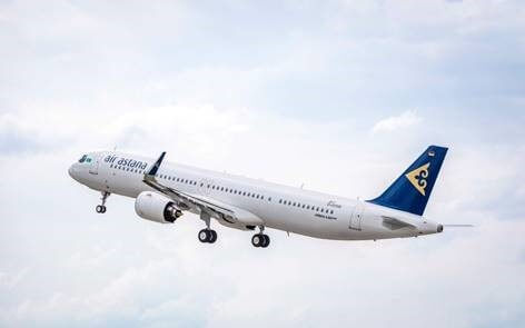 Air Astana takes delivery of its first Airbus A321LR